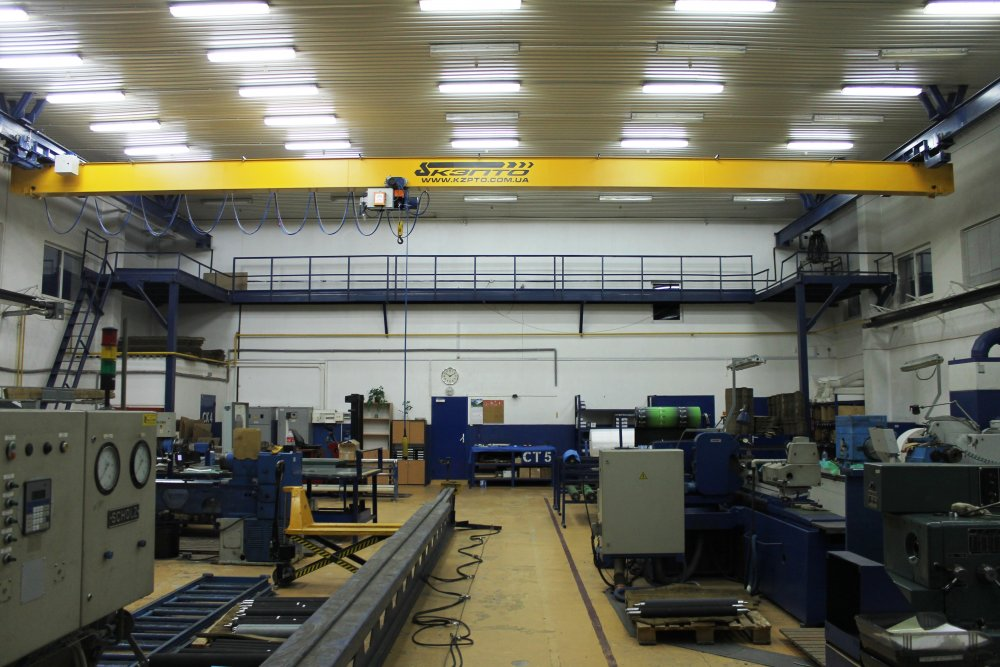Buy Beam crane one-frame suspended 1,0 t, 2,0t, 3,2t, 5,0t, 6,3t, 10,0t, 12,5 t, 16,0