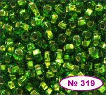 Бисер 10/0 № 57430 / 480 (блестящий с квадратной серединкой) (код: 10-480-57430)