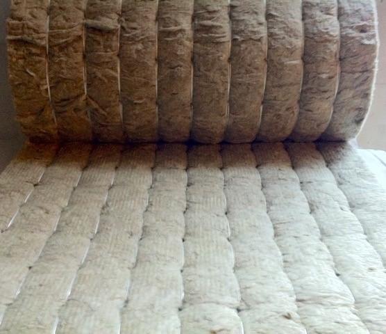 Мат прошивной теплоизоляционный  безобкладочный 50 мм (80 кг/куб.м)
