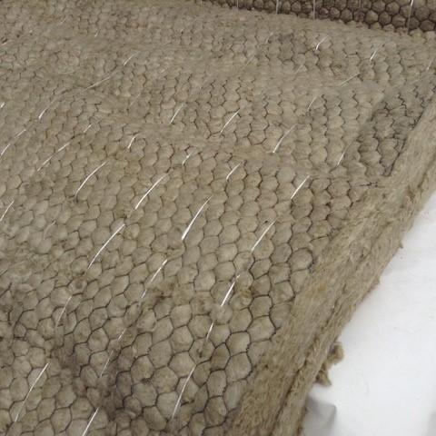 Мат прошивной теплоизоляционный с обкладкой из металлической сетки 50 мм (100 кг/куб.м)
