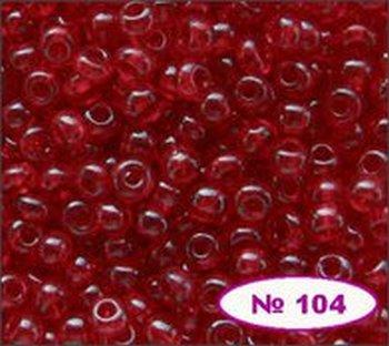 Бисер 10/0 № 90070 / 104 (прозрачный) (код: 10-104-90070)
