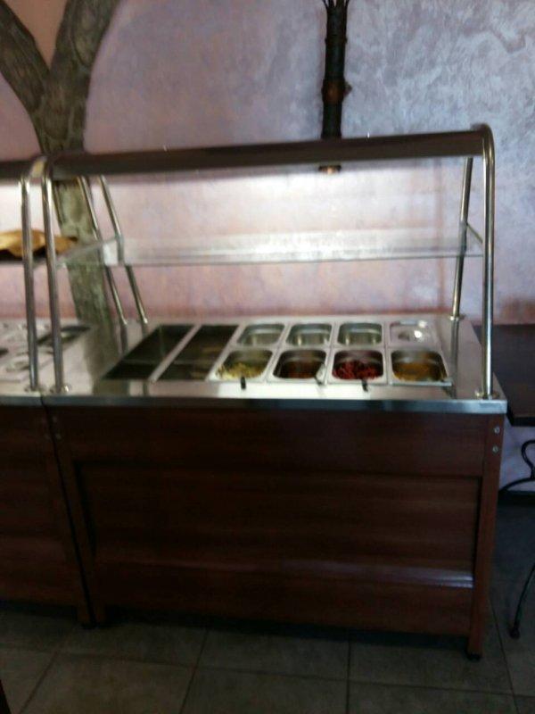 Мармит 2 х блюд 1300х700х850 (1450)