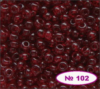 Бисер 10/0 № 90120 / 102 (прозрачный) (код: 10-102-90120)