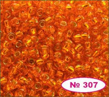 Бисер 10/0 № 97000 / 493 (блестящий с квадратной серединкой) (код: 10-493-97000)