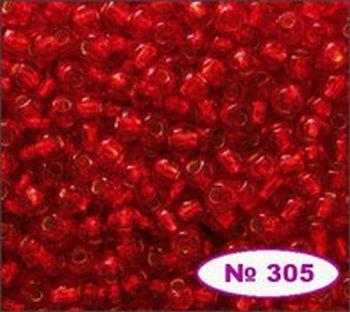 Бисер 10/0 № 97050 / 495 (блестящий с квадратной серединкой) (код: 10-495-97050)