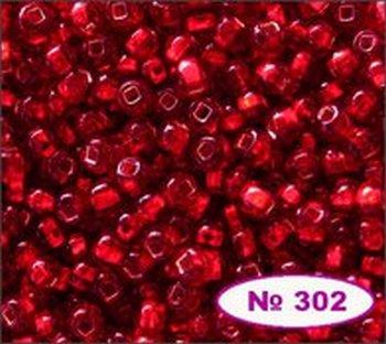 Бисер 10/0 № 97120 / 498 (блестящий с квадратной серединкой) (код: 10-498-97120)