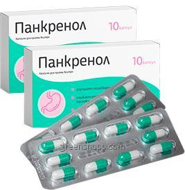 Vásárolni Pankrenol - kapszula gyomorhurut