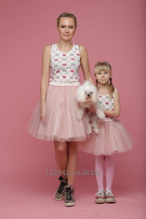 Buy Skirt a pack a shopenka magnificent of a fatin on the girl, the girl, Family Look