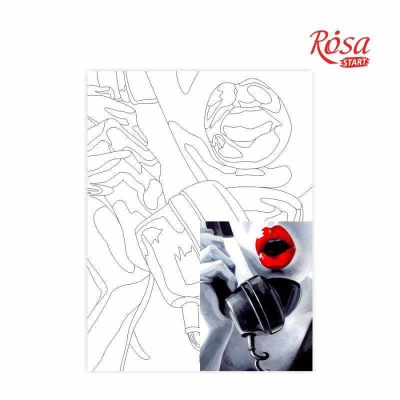 Холст на картоне с контуром Pop Art Passion 30х40, GPA284308