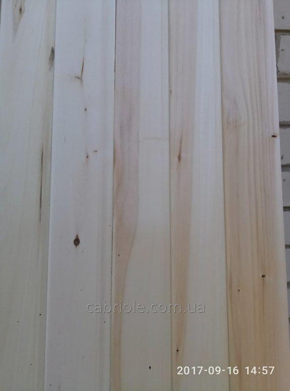 Евровагонка липа, 2сорт, 1-1.9м