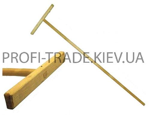 Швабра деревянная прямая ПТ-9002