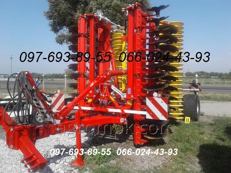 Дисковая борона дискатор Terradisc 6001 T Pottinger