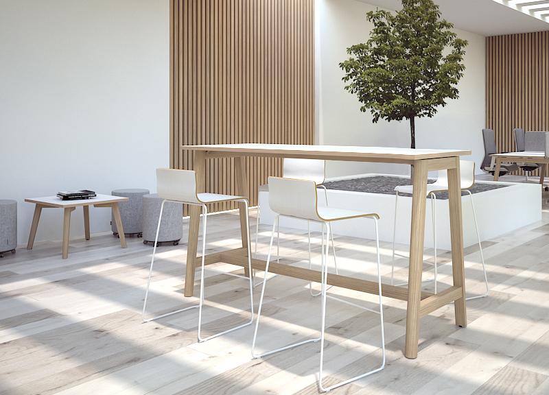 Высокий стол Nova Wood New!