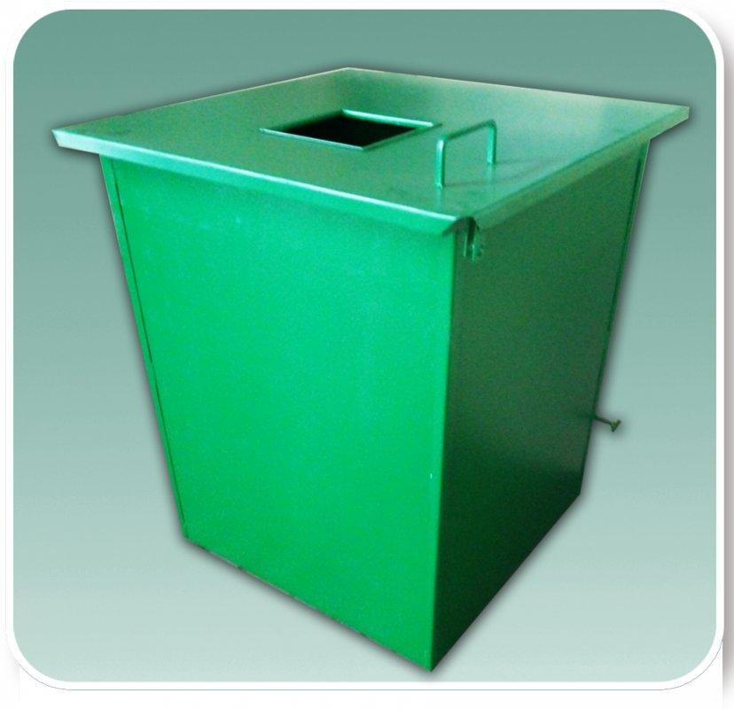 Бак для твердых бытовых отходов ТПВ №2 с кришкой
