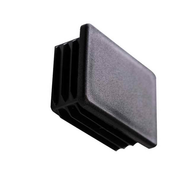 Buy Cap for a profile pipe of 50х100 mm flat black