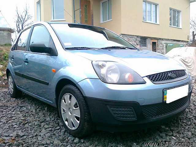 Форд фиеста фото 2007