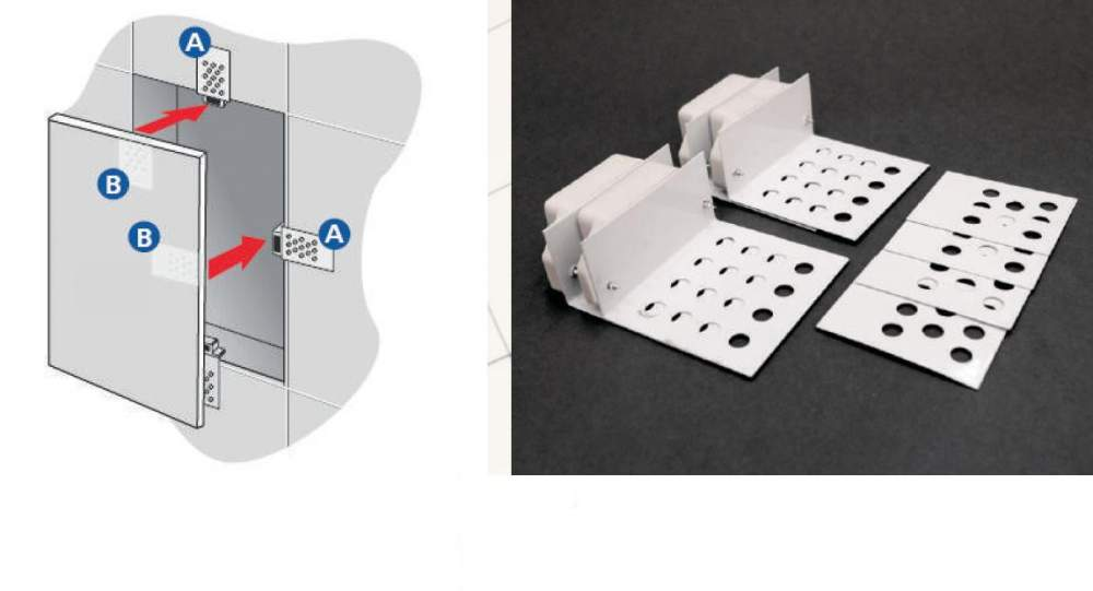 Купить Магнитное крепление плитки для ревизионных окошек