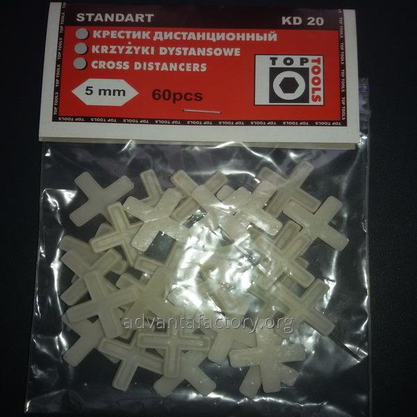 Купить Крестик для кафельной плитки Эконом 5 мм
