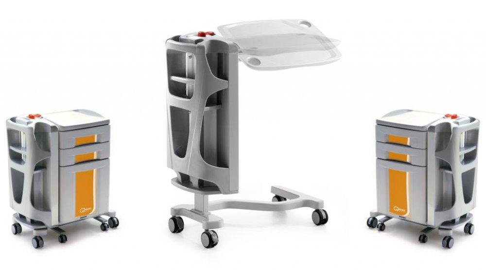 Купить Медицинский прикроватный столик CI8015