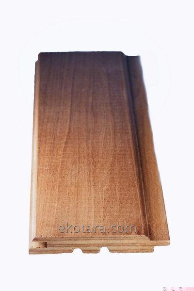 Термодоска из хвойных пород древесины