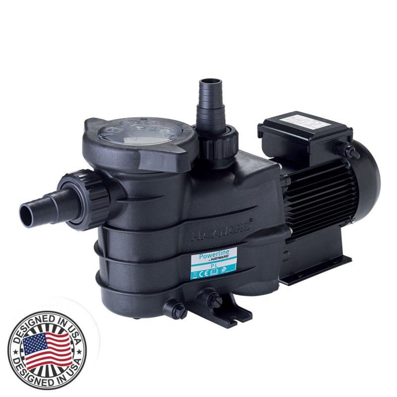 Насос Hayward 81006 серия Powerline PL 15м³/час, I фазный для фильтрации 15, 0.92, 1, 220, I, 60