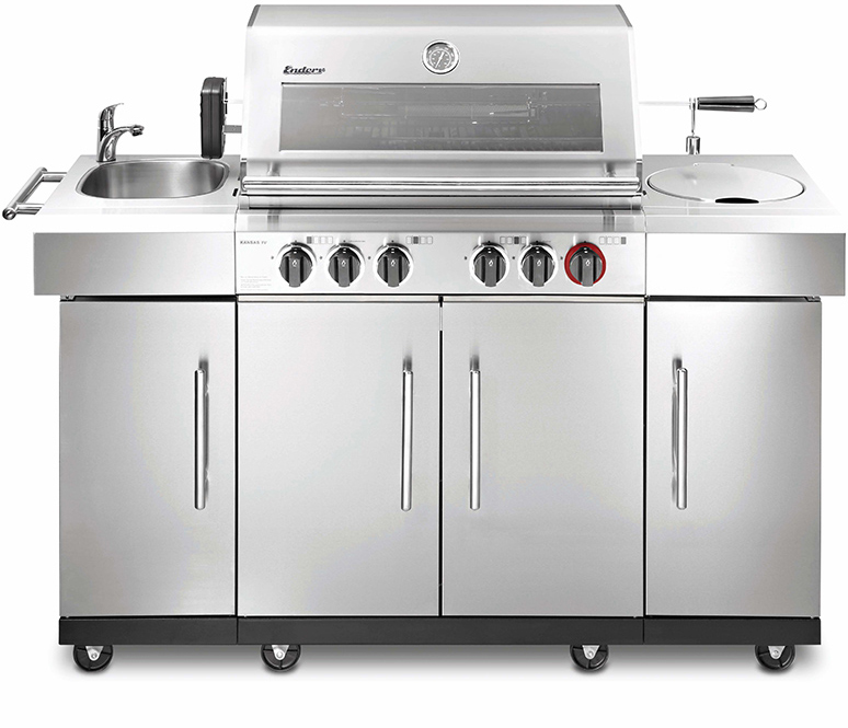 Buy KANSAS 4 SIK Profi Turbo GAS GRILL