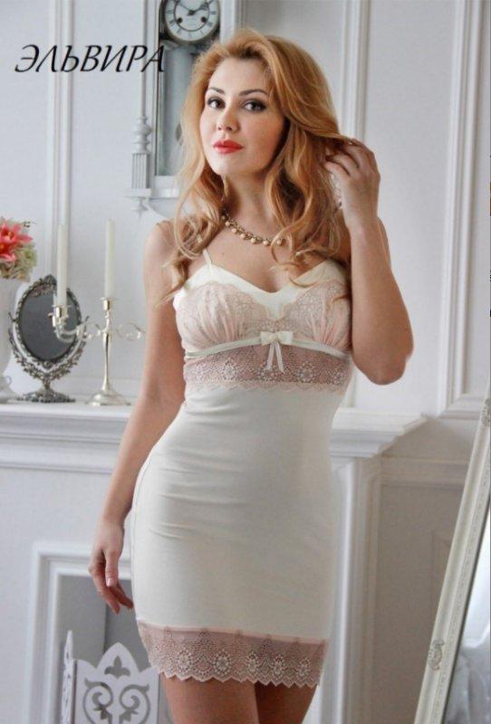 Рубашка Fleur Lingerie Эльвира трикотаж
