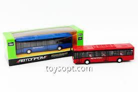 Автобус металл 7784, 192шт/2, Автопром в коробке