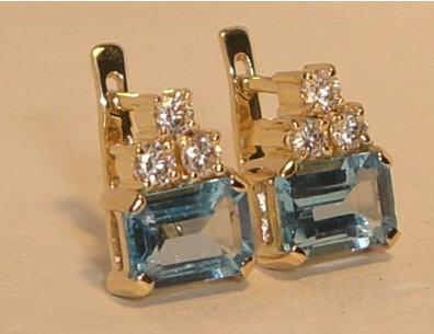 f5407d56ae19 Серьги золотые, ювелирные украшения, ювелирные изделия. купить в ...