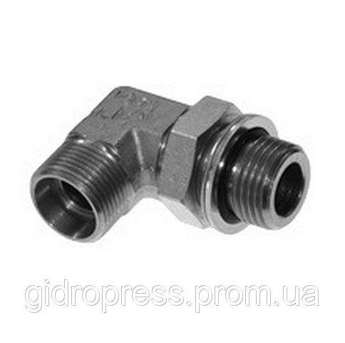 Купить Регулируемое угловое резьбовое соединение 90° с дюймовой резьбой, и контргайкой XWEE 06 LR 1/8 A3C