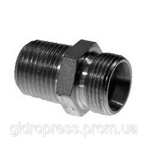 Купить Прямое корпусное соединение с конической резьбой XGE 08L 1/4NPT A3C