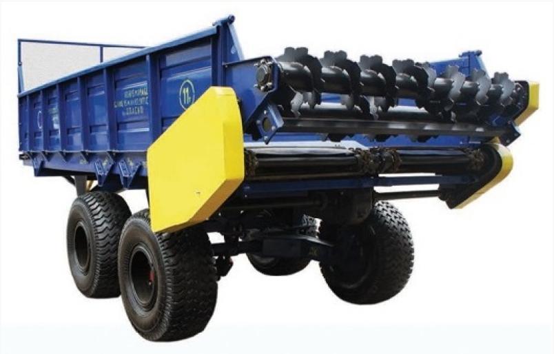 Купить Прицепные тракторные разбрасыватели удобрений ПРТ-10, ПРТ-7, РОУ-6