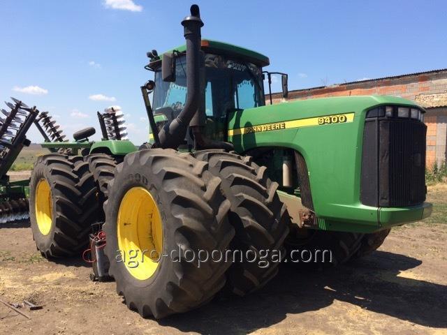 Трактор Джон Дир 9400 бу