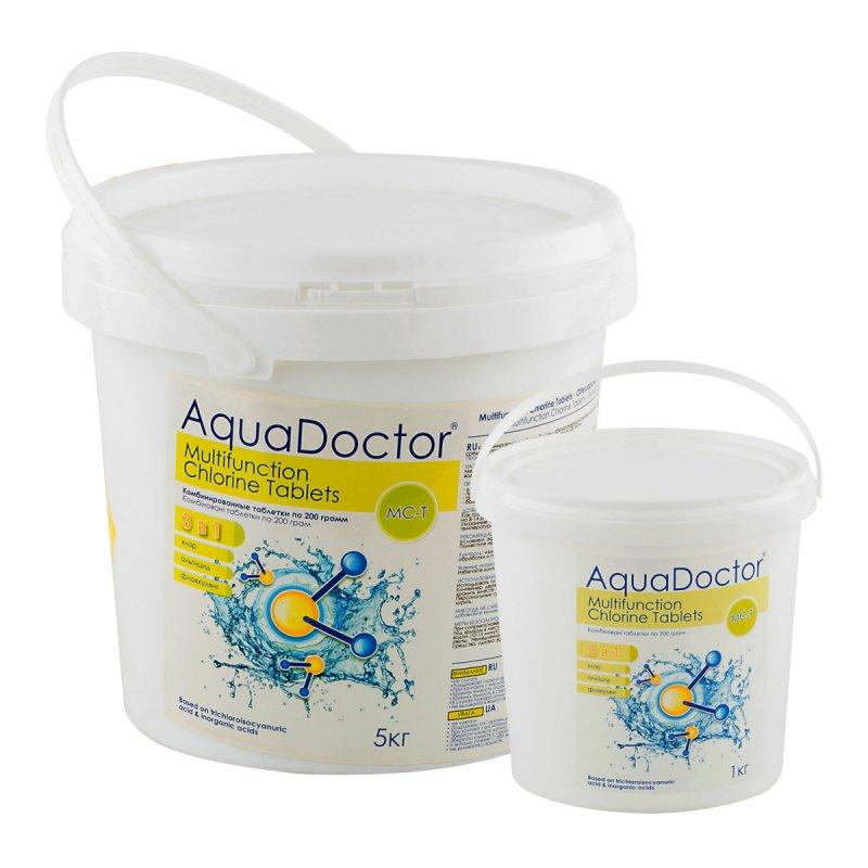 Флокулянт средство против водорослей в таблетках по 200гр AquaDoctor - Упаковка 50кг