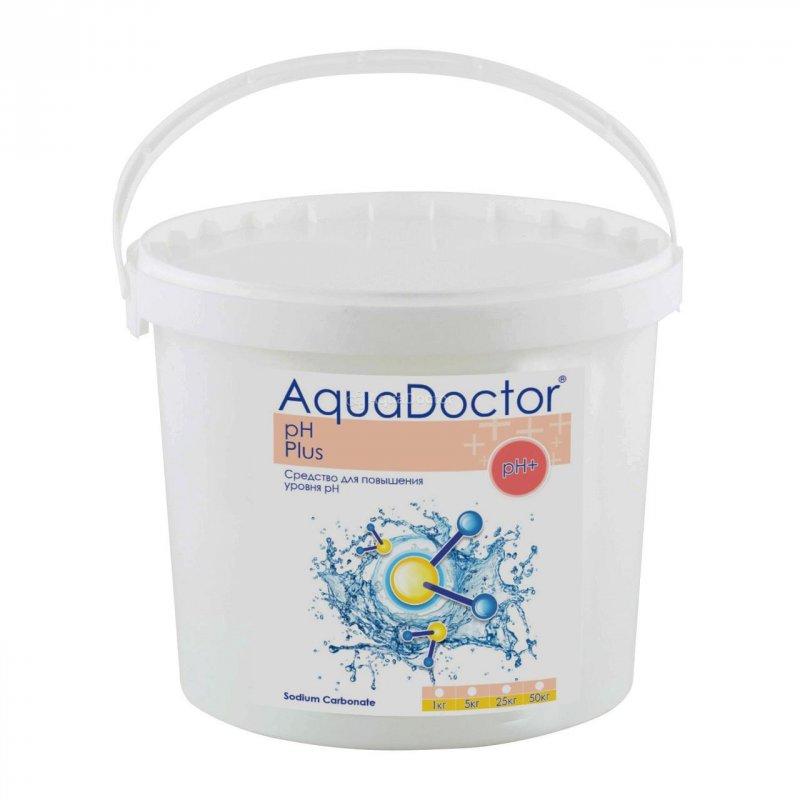 Средство для повышения кислотности воды рН plus в гранулах AquaDoctor - Упаковка 5кг