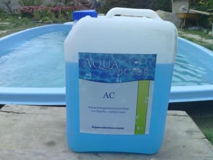 Средство против водорослей жидкий состав AquaDoctor - Альгицид. Канистра 10л