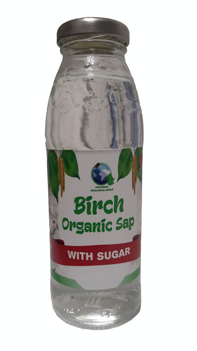"Bjørk juice uten sukker ""Organic"""
