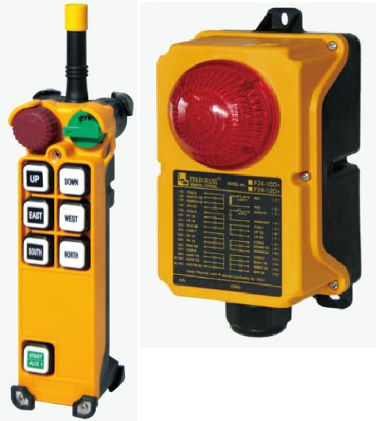 Купить Промышленное радиоуправление TELECRANE модель F24-6D+