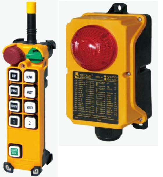 Купить Промышленное радиоуправление TELECRANE модель F24-8D+