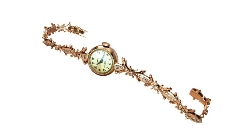 Золотой браслет для часов украина