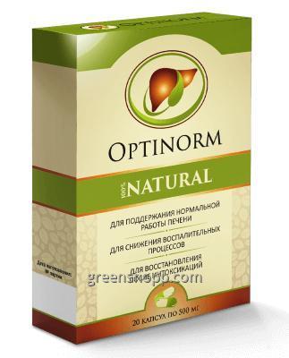 Vásárolni OptiNorm (Optinorm) - kapszula a máj egészségének