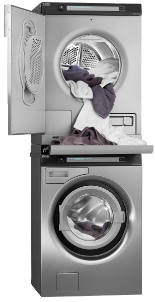 Washing machines with drying of ASKO (Sweden)