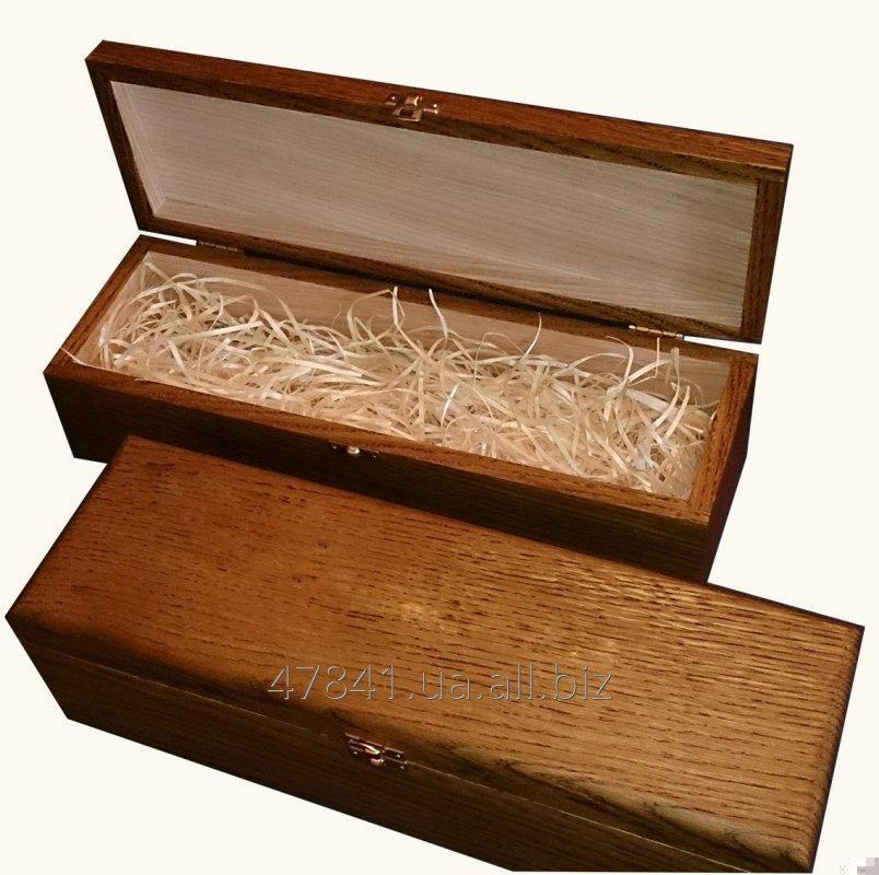 Case Wooden For A Wine Bottle A Gift Box For Wine