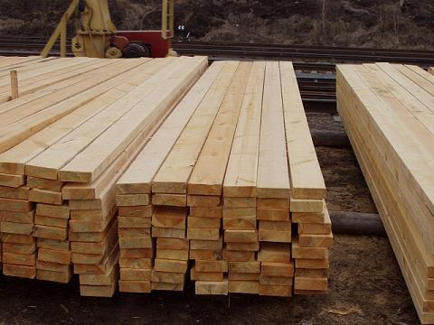 Лесопиломатериал обрезной, строительный