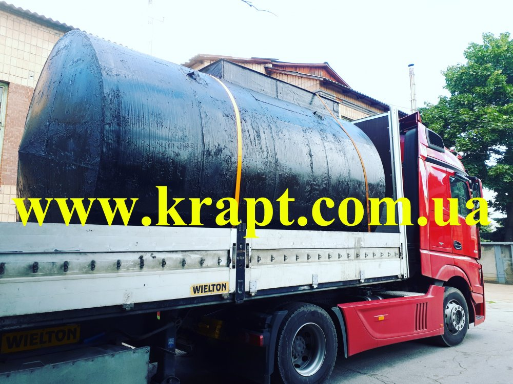Buy The horizontal tank for fuel and lubricants of underground 20 CBM