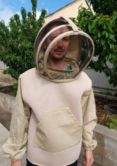 Купить Куртка пчеловода c маской LUX