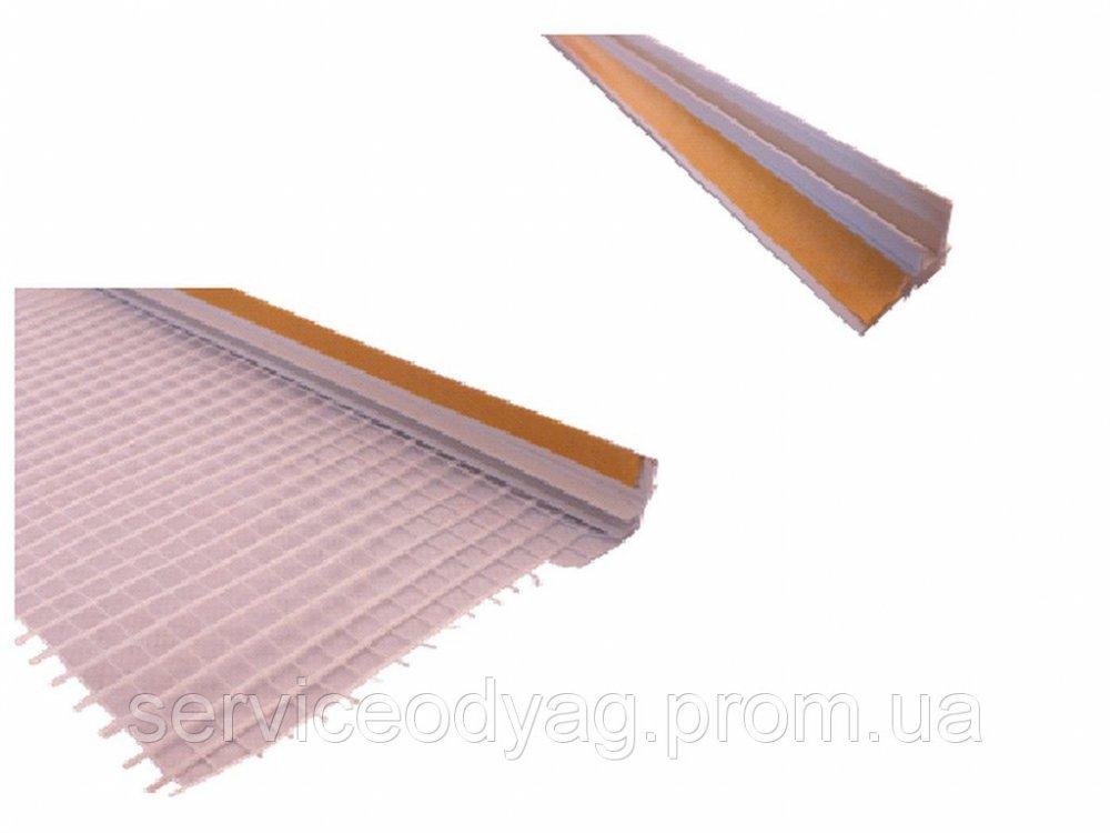 Buy PVC Priokonnaja, with a grid of 10 mm, 2.4 m TM Budfix