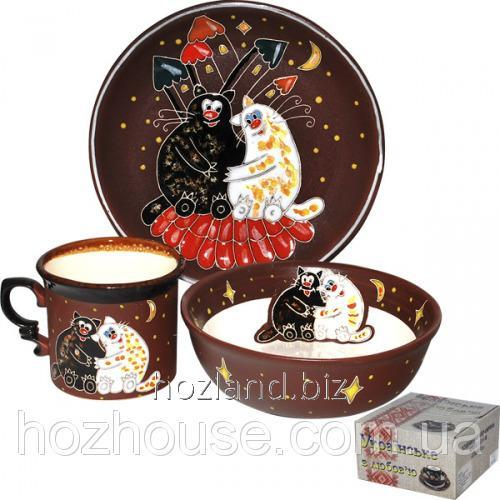 Buy Children's Cookware Set 3pr. Fat cats ""