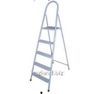 Buy Stairway stepladder 3st. metal. painted