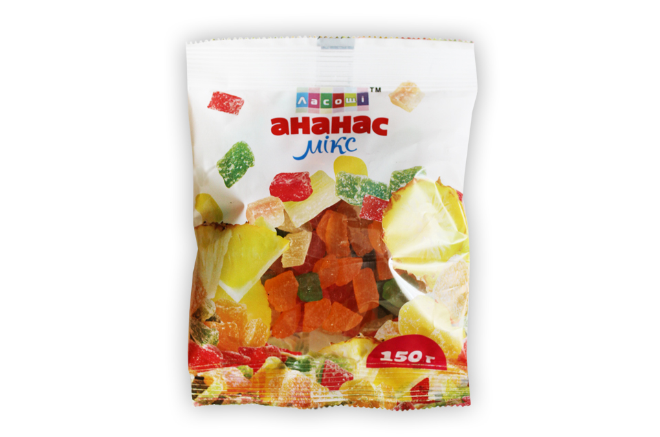 Buy Candied fruits mix pineapple
